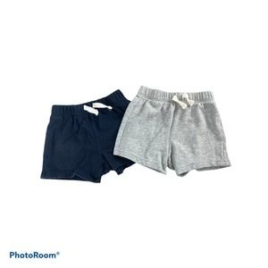The Childrens Place 2 Pack Shorts Sz 12-18m